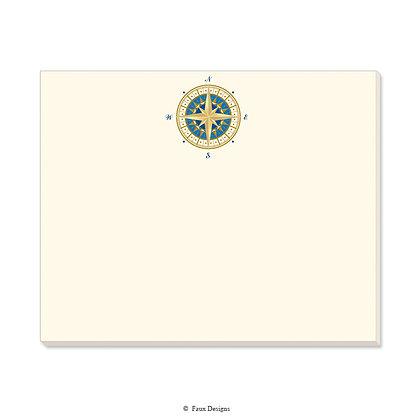 Compass Rose Desk Pad