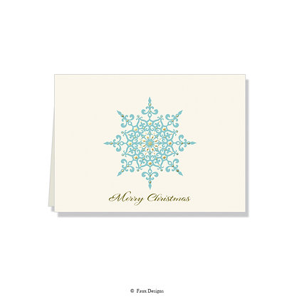 Merry Christmas - Snowflake