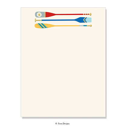 Oars 8.5 x 11 Sheet