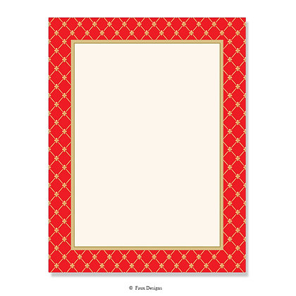 Noble Red 8.5 x 11 Sheet