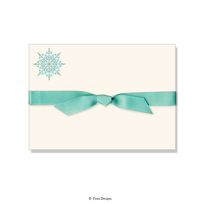 Snowflake Petite Note