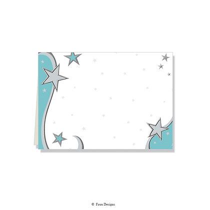 Starlight Folded Note