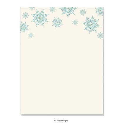 Snowflake 8.5 x 11 Sheet