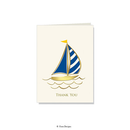 Thank You - Sail Boat