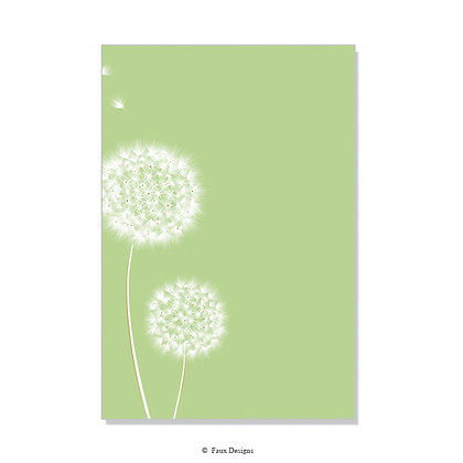 Wish Lime Invitation - Blank