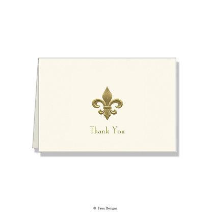 Thank You - Fleur-de-lis