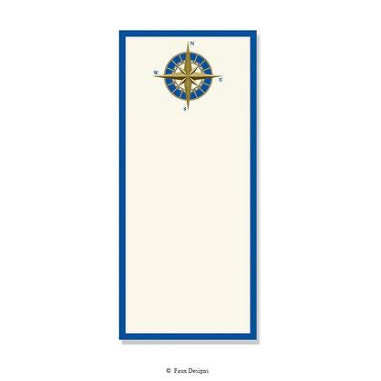 Compass 4 x 9 Invitation - Blank