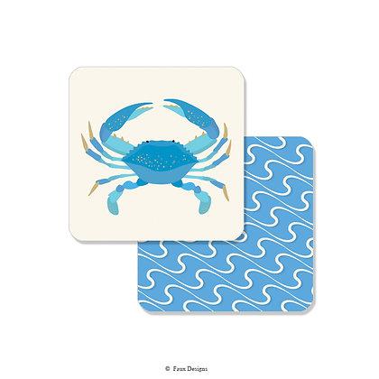 Blue Crab Coaster