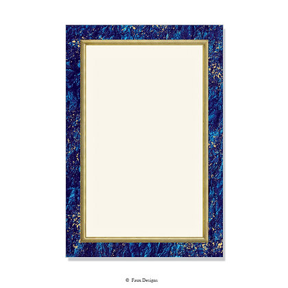 Villa Lapis Lazuli Invitation - Blank