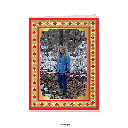 Royal Yuletide Photo Card