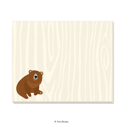 Bear Desk Pad