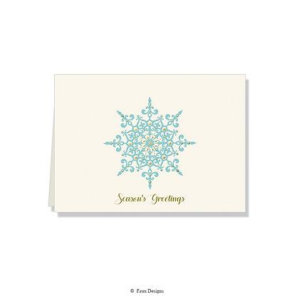 Season's Greetings - Snowflake