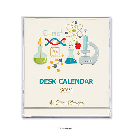 2021 Desk Calendar Science is Real