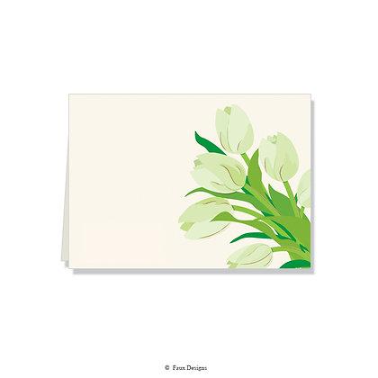 Tulips Folded Note