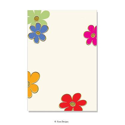 Celebration Flowers Invitation - Blank