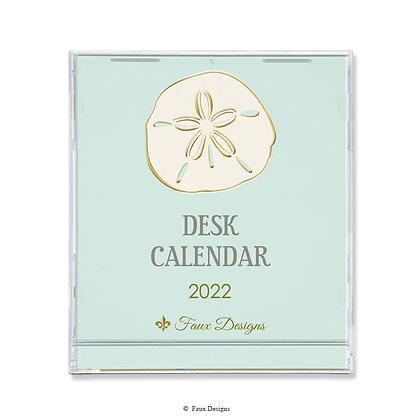 2022 Desk Calendar Sand Dollar
