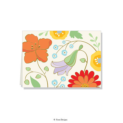 Bloom Folded Note