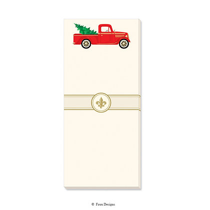 Holiday Truck Gift Pad