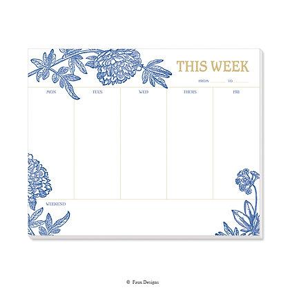 Audrey Weekly Pad