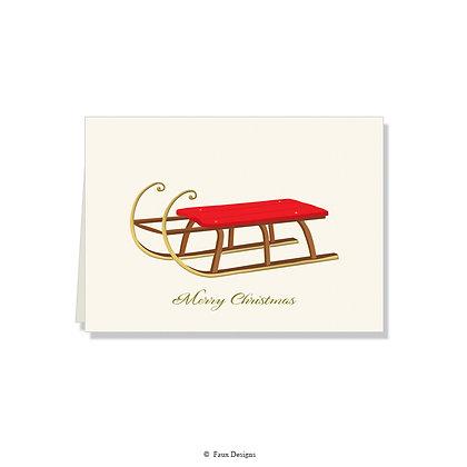 Merry Christmas - Sled
