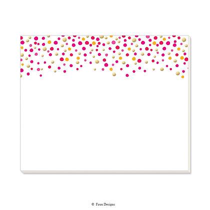 Confetti Desk Pad