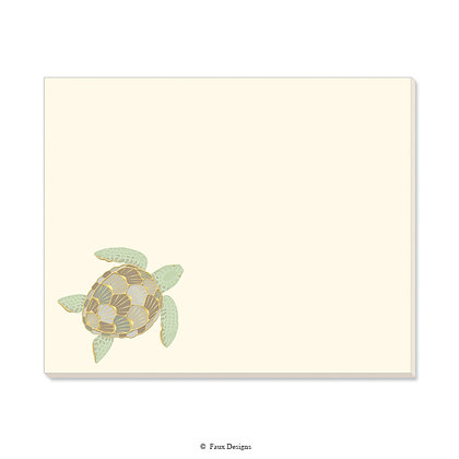 Sea Turtle Desk Pad