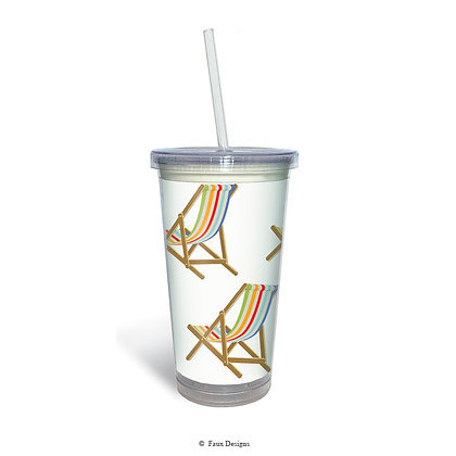 Beach Chair Tumbler