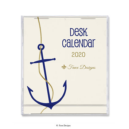2020 Desk Calendar Anchor