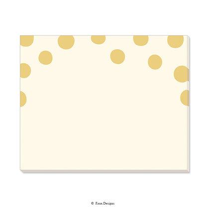 Felicity Ivory Desk Pad