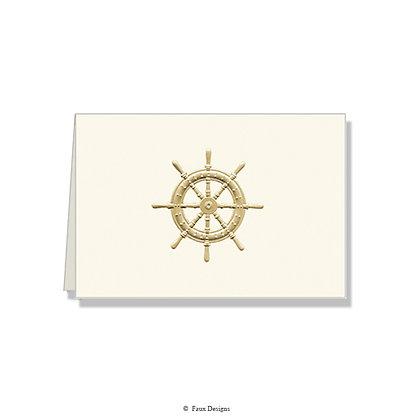 Navigator's Wheel Folded Note