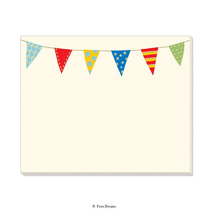 Party Banner Desk Pad