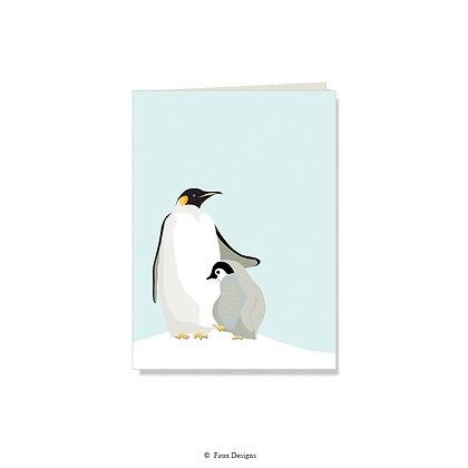 Penguin Folded Note