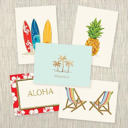 Hawaiian Getaway Correspondence Set