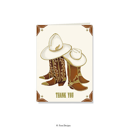 Thank You - Cowboy Boots