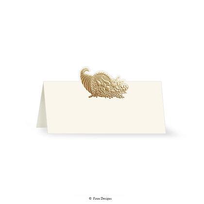 Cornucopia Placecard