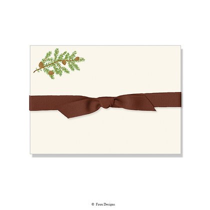 Pine Bough Petite Note