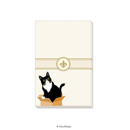 Cat in the Box Gift Pad