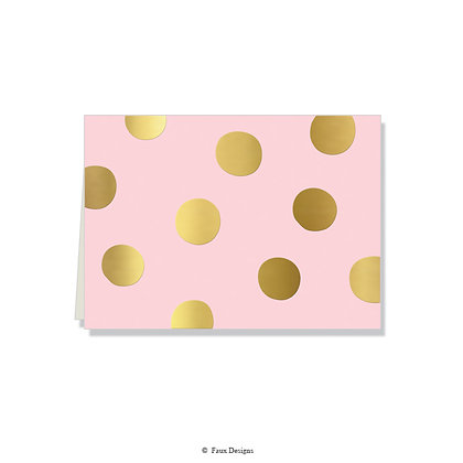 Felicity Blush Folded Note