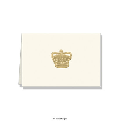 Crown Folded Note