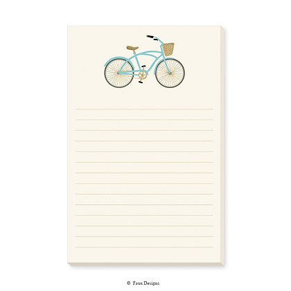 Bicycle Memo Pad