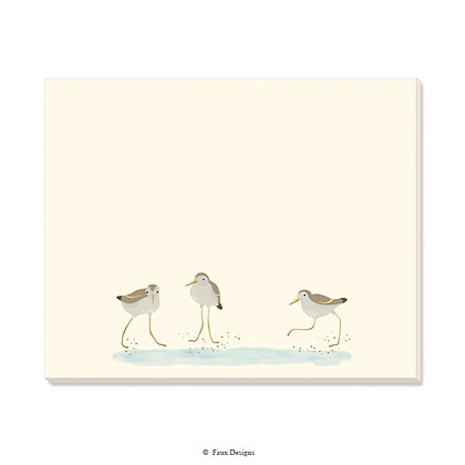 Plovers Desk Pad