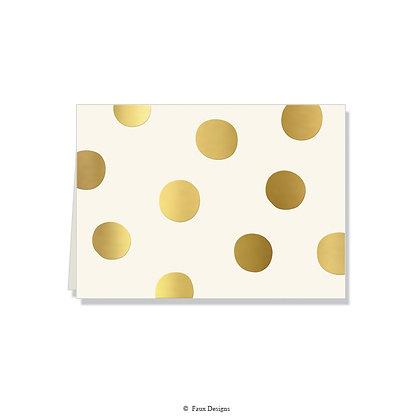 Felicity Ivory Folded Note