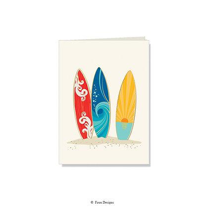 Surfboards Folded Note