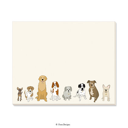 Dogs Desk Pad