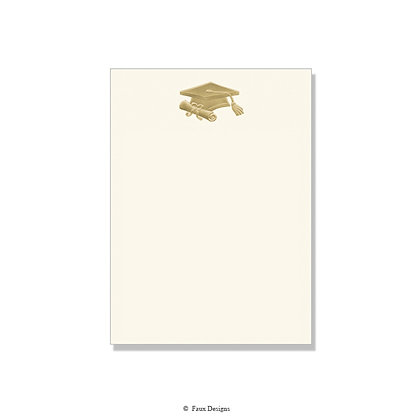 Graduation Cap Invitation - Blank