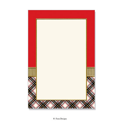 Academy Crimson, Black Invitation - Blank