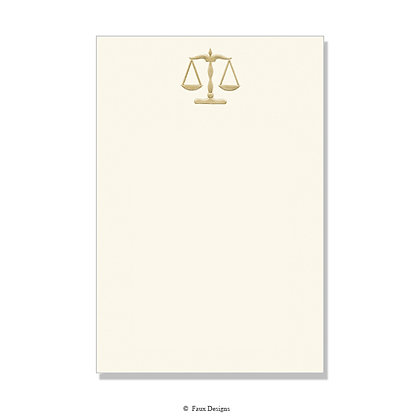 Scales of Justice Invitation - Blank
