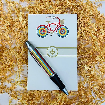 Rainbow Bicycle Mini Gift Set