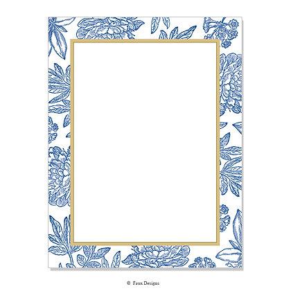 Audrey Blue 8.5 x 11 Sheet