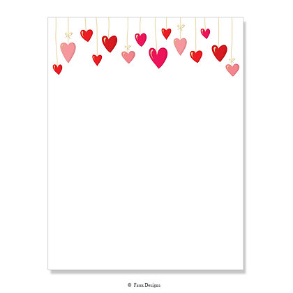 Love is in the Air 8.5 x 11 Sheet